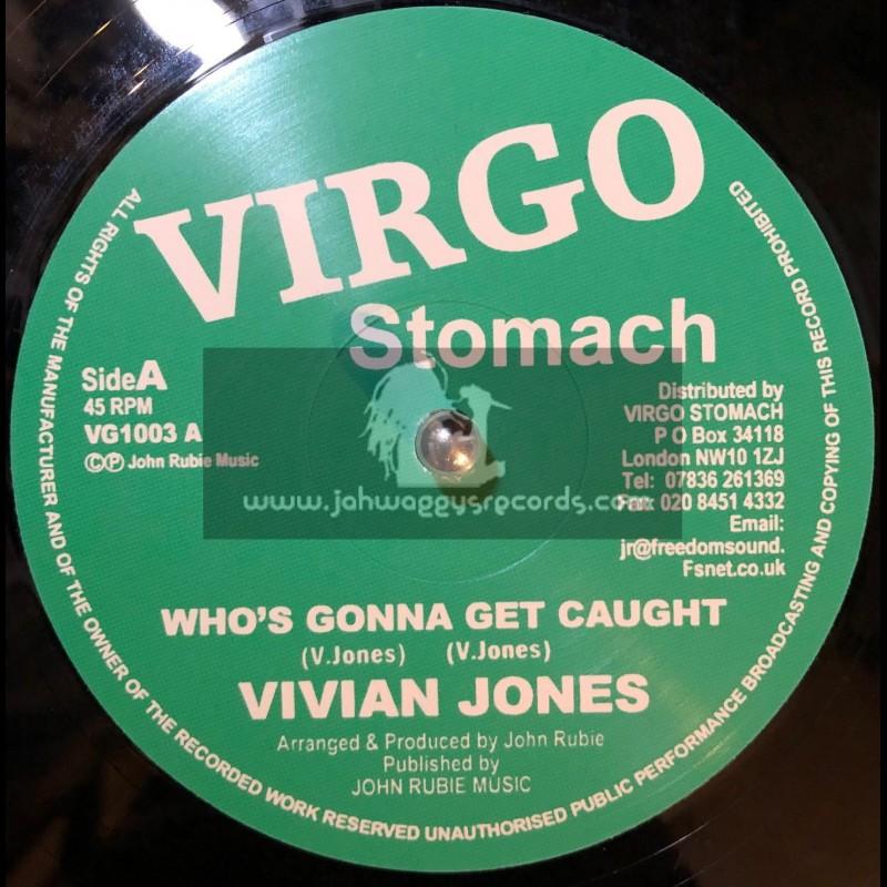 "VIRGO STOMACH-12""-WHOS GONNA GET CAUGHT / VIVIAN JONES"