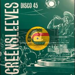 "Greensleeves-12""-Cool Down The Heat / Junior Murvin + Run Down The World / Nitty Gritty"