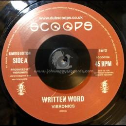 "SCOOPS-7""-WRITTEN WORD / VIBRONICS"