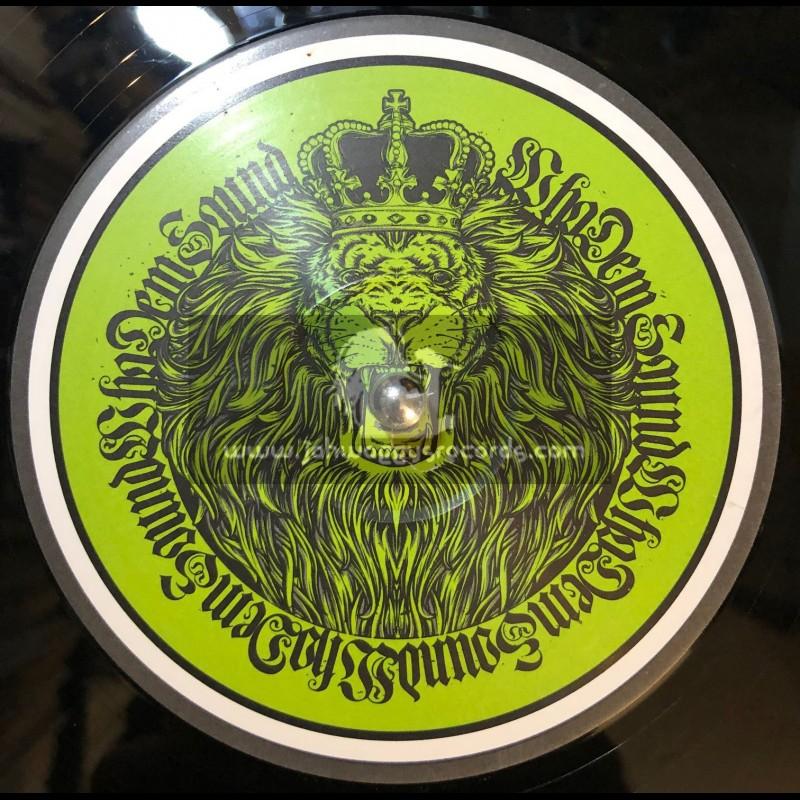 "Whodemsound Records-12""-Rebellious / Lutan Fyah + Rebellious Dub / Jah Warrior"