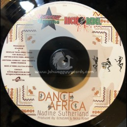 "Musially Unifying-7""-Dance Africa / Nadine Sutherland + Highgrade Skanking / Mr Williamz"