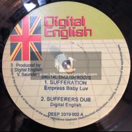 "Digital English-12""-Sufferation / Empress Babyluv + Sounds Of Meditation / Chazbo"
