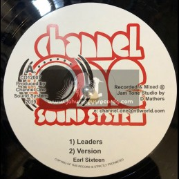 """Channel One Sound System-12""""-Leaders / Earl Sixteen"""