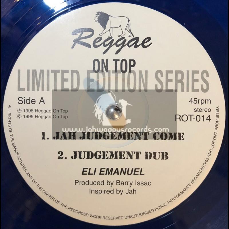 "Reggae On Top-12""-Jah Judgement Come / Eli Emanuel"