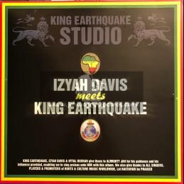 King Earthquake-LP-Izyah Davis Meets King Earthquake