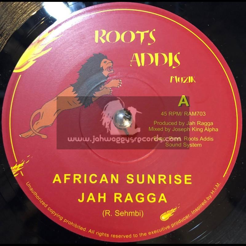 "Roots Addis Muzik-7""-African Sunrise / Jah Ragga + African Dubrise / Jah Ragga"