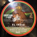 """Sir Logie International Records-10""""-Listen to the Words of the Father / El Indio + Horns of the Father / Aba-Ariginals"""