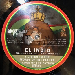"Sir Logie International Records-10""-Listen to the Words of the Father / El Indio + Horns of the Father / Aba-Ariginals"