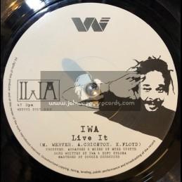 """Weyva Music-7""""-Live It / IWA"""