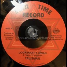 """Star Time Record-Top Ranking Sound-7""""-Look Waat A Gwann / Talisman"""