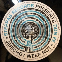 "Steppas Records-12""-Jericho + Weep Not / Don Fe"