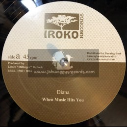"""Iroko Records-12""""-When The Music Hits You / Diana"""