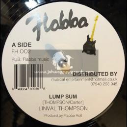 "Flabba Music-12""-Lump Sum / Linval Thompson + Wa Di Is Free / Roots Radics"
