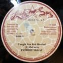 """Lucky Star-Jah Fingers-12""""-Caught You Red Handed / Freddie McKay + Jah Love I / Freddie McKay"""