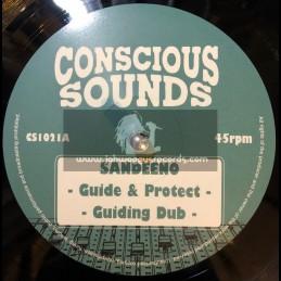 "Conscious Sounds-10""-Guide And Protect / Sandeeno + Sabbath / Mystical Steppa"