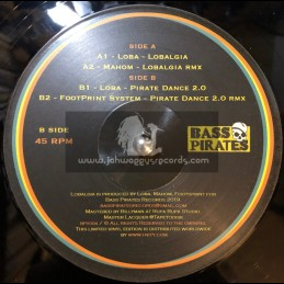 "Bass Pirates-12""-Lobalgia / Loba + Pirate Dance / Loba"