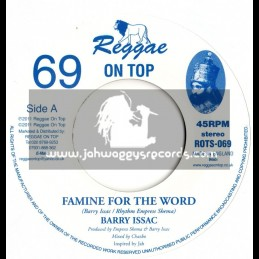 "Reggae on top-7""-Famine for the world / Barry Issac (Empress Shema)"