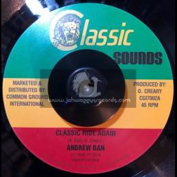 "Classic Sounds-7""-Classic Rides Again / Andrew Dan"
