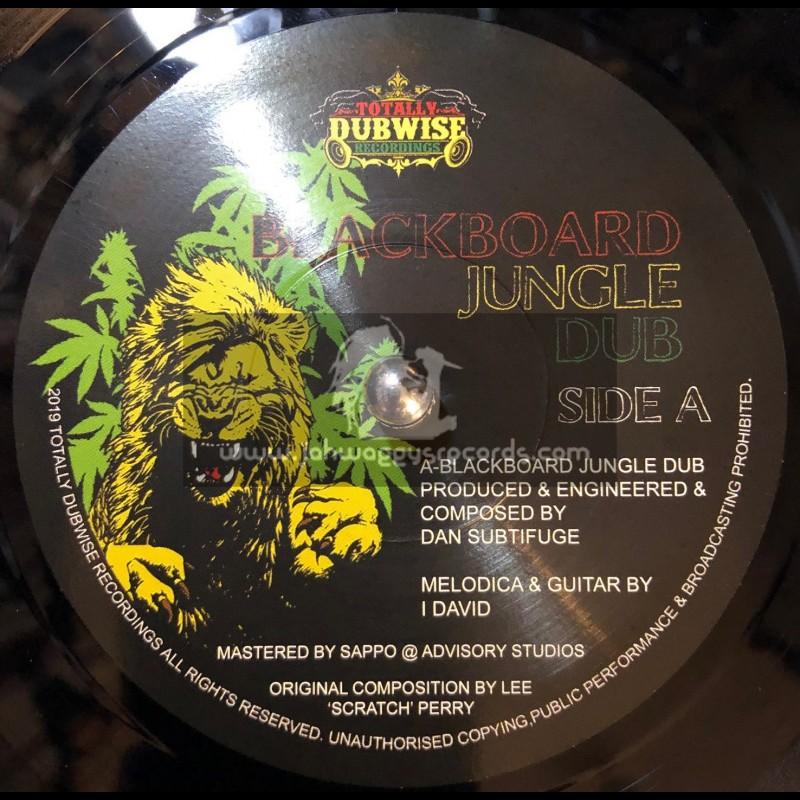 "Totally Dubwise Recordings-7""-Blackboard Jungle Dub / Dan Subtifuge Meets I-David"