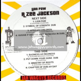 "Sip a Cup-12""-Lion Paw / R Zee Jackson (Showcase Style)"
