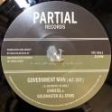 "Partial Records-7""-Government Man (Alt. Cut) / Christel + Political Version / Goldmaster Allstars"