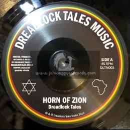 """Dreadlock Tales Music-7""""-Horn Of Zion / Dreadlock Tales"""