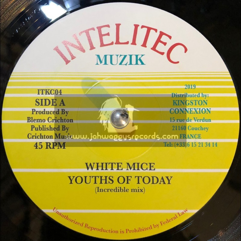 """Intelitec-7""""-Youths Of Today / White Mice"""