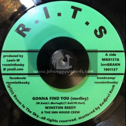 """Room In The Sky-7""""-Gonna Find You / Winston Reedy And The Inn House Crew"""