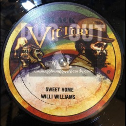 "BLACK VICTORY RECORDS-12""-SWEET HOME / WILLIE WILLIAMS"