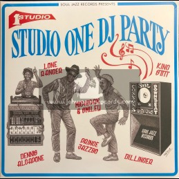 Soul Jazz Records-Double-Lp-Studio One DJ Party / Various Artist