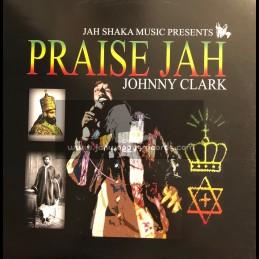 Jah Shaka Music-LP-Praise Jah / Johnny Clark