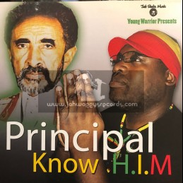 Jah Shaka Music-LP-Know H.I.M / Principle (Young Warrior)