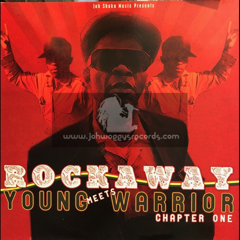 Jah Shaka Music-Lp-Rockaway Meets Young Warrior Chapter 1