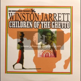 Jah Shaka Music-LP-Children Of The Ghetto - Winston Jarret