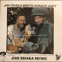 Jah Shaka Music-LP-JAH SHAKA MEETS HORACE ANDY