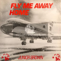 Jah Shaka Music-Lp-Fly Me Away Home / Junior Brown