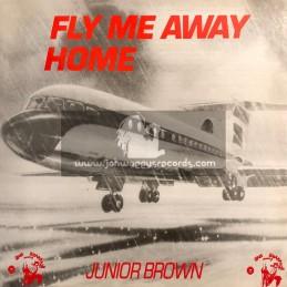 Jah Shaka Music-Lp-Fly Me Away Home / Junior Brown