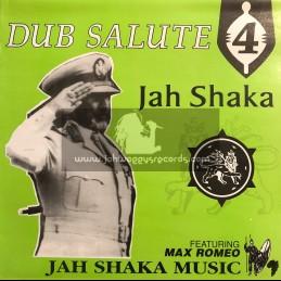 Jah Shaka Music-LP-Dub Salute 4 Featuring Max Romeo