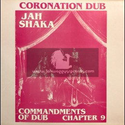 Jah Shaka Music-LP-Coronation Dub / Commandments Of Dub Chapter 9