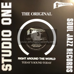 "Studio One-Soul Jazz Records-12""-Armagideon Time / Willie Williams"