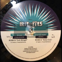 """Irie Ites Records-10""""-War Monger / Chezidek + Rebel Woman / Sena (Russ D)"""