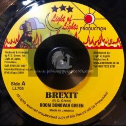 "Light Of Lights-7""-Brexit / Boom Donovan Green"