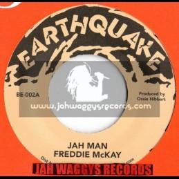 """Earthquake-7""""-Jah Man / Feddie Mckay"""