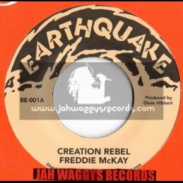 "Earthquake-7""-Creation Rebel / Freddie Mckay"