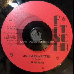 "Fish Tea-7""-As It Was Written / Joe Morgan"