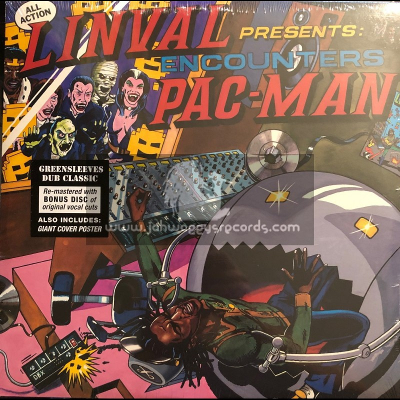 Greensleeves-Double-Lp-Linval Presents Encounters Pac Man