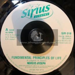 "Sirus Records-7""-Fundimental Principles Of Life / Nereus Joseph (2007)"