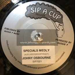 "Sip A Cup Records-7""-Specials Melody / Johnny Osbourne"