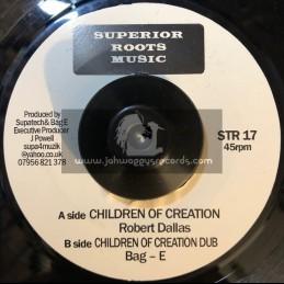 "Superior Roots Music-7""-Children Of Creation / Robert Dallas"