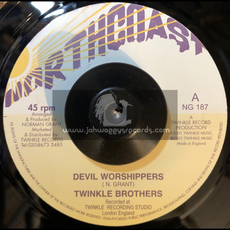 """Northcoast-7""""-Devil Worshippers / Twinkle Brothers"""